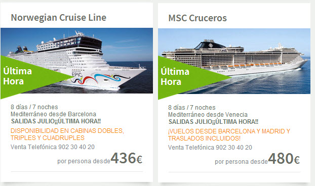 Viajes el corte ingles 2018 ofertas en cruceros y vuelos for Ofertas piscinas desmontables el corte ingles