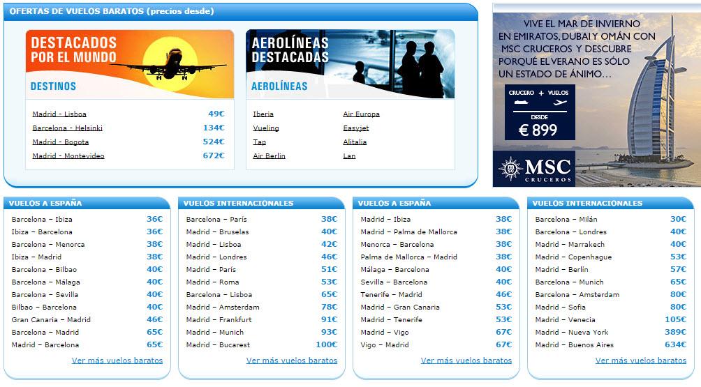 rumbo 2014 opiniones sobre los vuelos viajes y hoteles