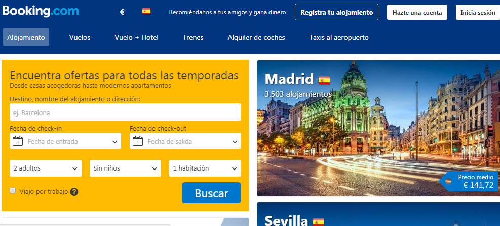 booking opiniones