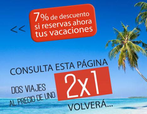 halcon viajes 2x1 2015