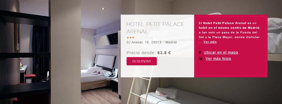 hoteles petit palace madrid