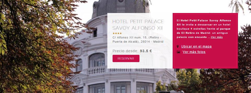 petit palace hoteles madrid