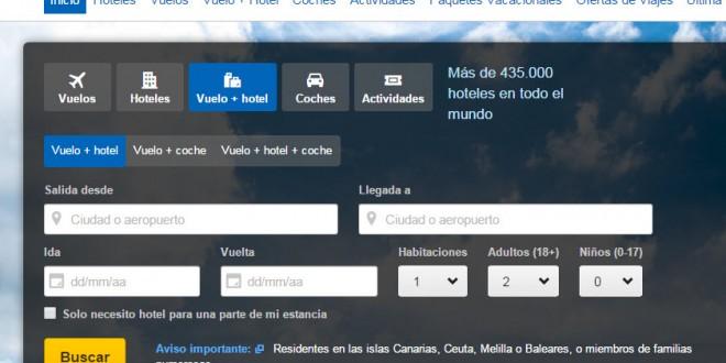 Expedia: opiniones sobre sus vuelos y hoteles