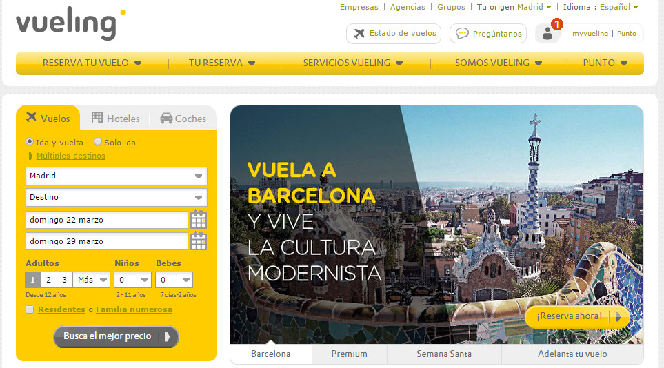 vueling opiniones 2015