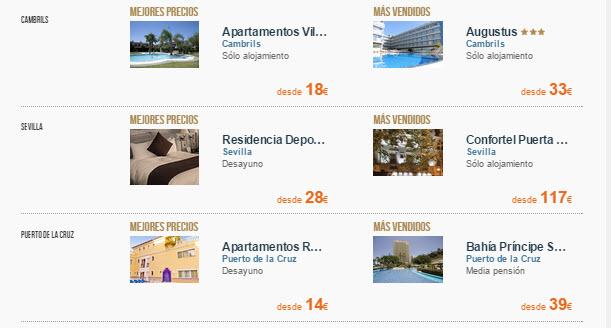 hoteles baratos puente de san isidro