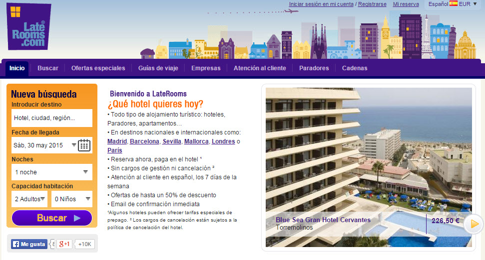 laterooms opiniones