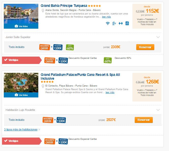 hoteles todo incluido septiembre