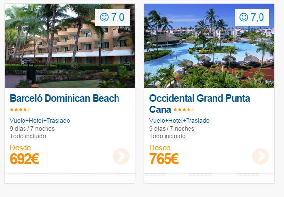 ofertas caribe punta cana 2015