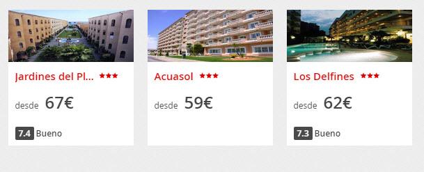 ofertas hoteles de playa agosto 2015