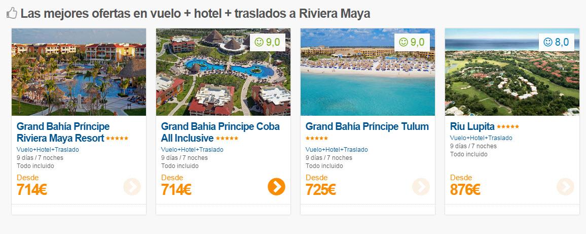 ofertas riviera maya todo incluido 2015