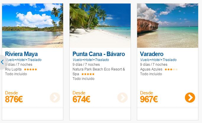 ofertas viajes todo incluido agosto