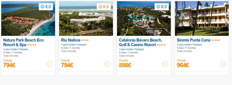 precios viajes todo incluido agosto 2015