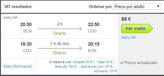 precios vuelos easyjet tripsta