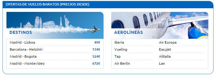 rumbo vuelos 2015
