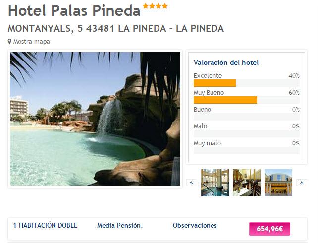 vacaciones baratas hoteles julio 2015