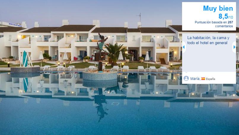 hotel adultos menorca 2015