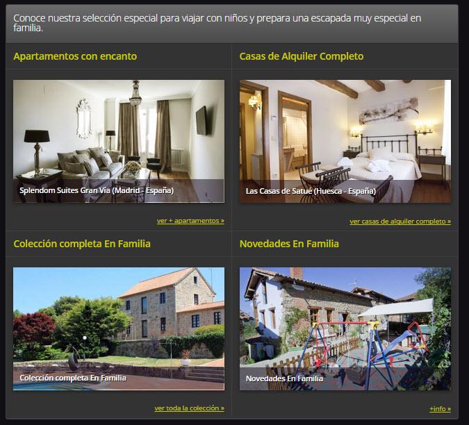 rusticae hoteles para familias