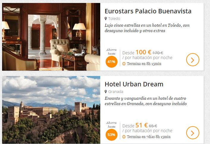 secret escapes hoteles