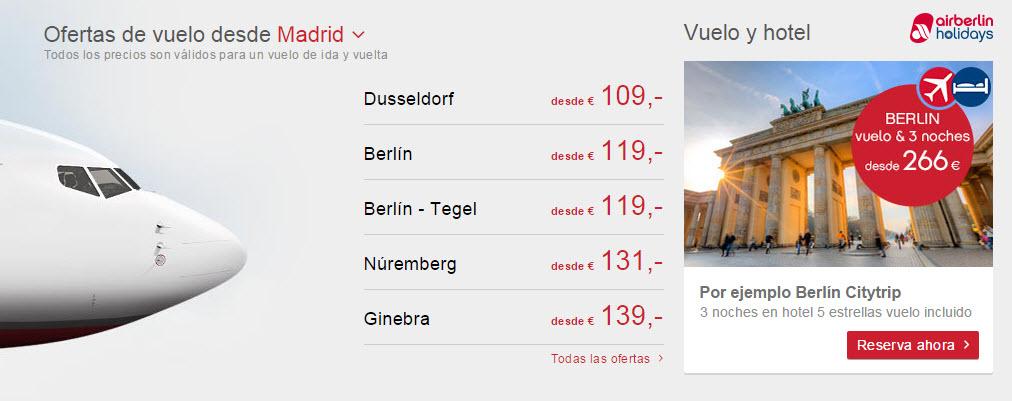 air berlin opiniones