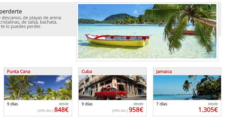 ofertas caribe fin de año