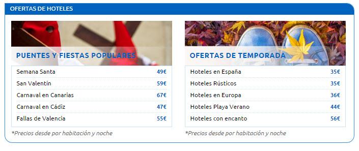 rumbo hoteles