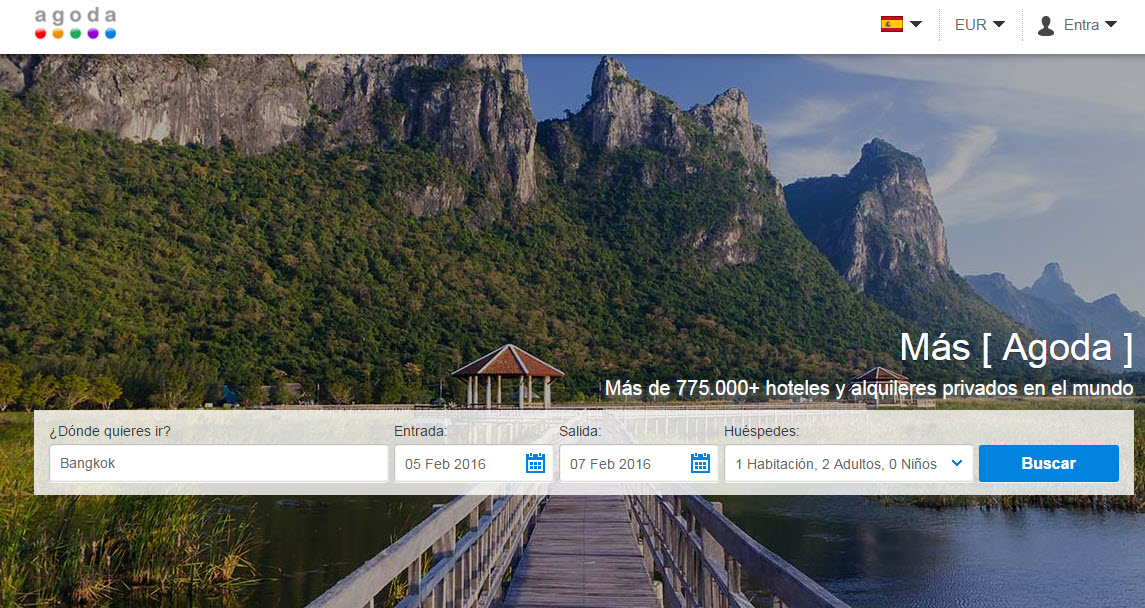 Agoda espa a opiniones del buscador de hoteles y ofertas for Busco hotel barato en barcelona