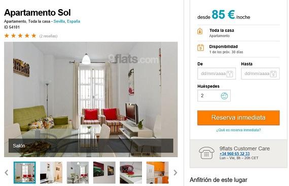 9Flats apartamentos
