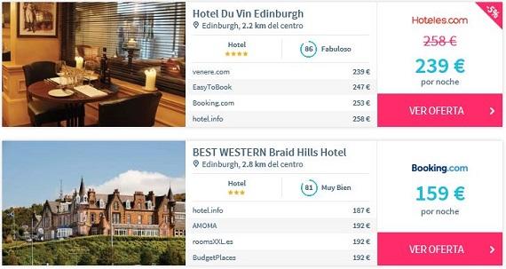 hotelscan comparador de hoteles
