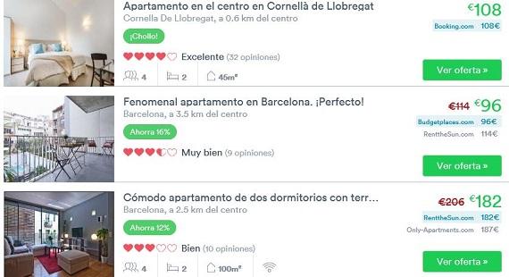 apartamentos baratos Barcelona