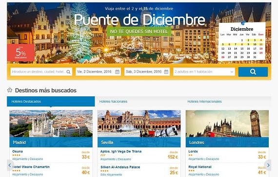 viajes-puente-de-diciembre-hoteles