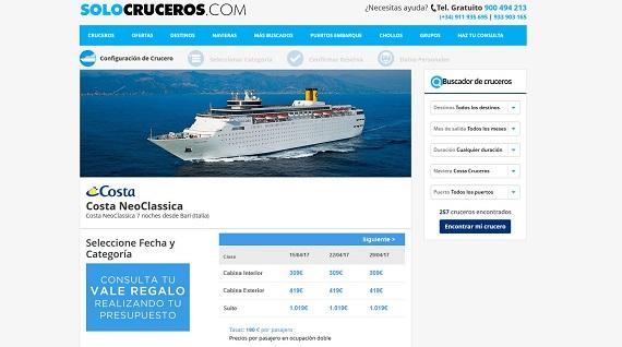 cruceros baratos islas griegas
