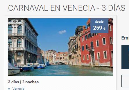 viajes venecia san valentin