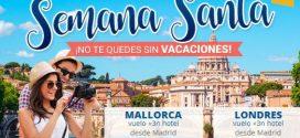 Viajes Semana Santa baratos y online: Europa con niños