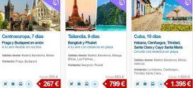 Circuitos Puente de Mayo 2017 online y baratos por Europa en pareja