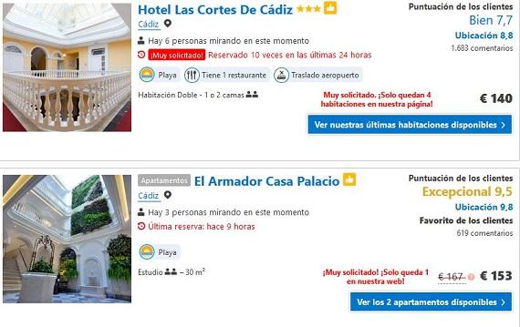 Hoteles de playa agosto Costa de la Luz