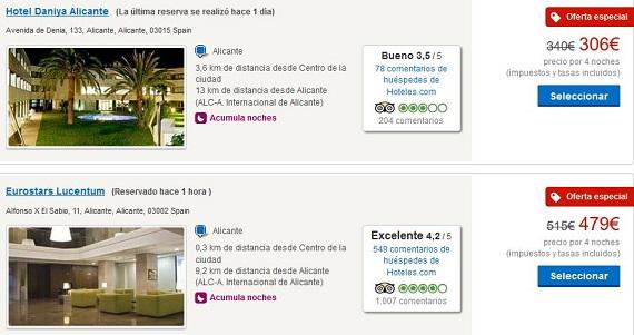 Hoteles de playa agosto ofertas