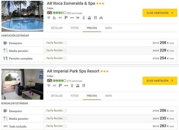 vacaciones julio hoteles