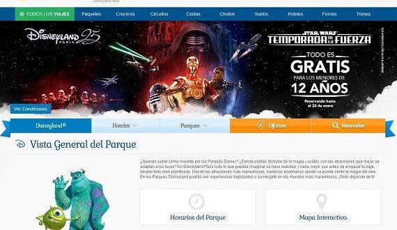 Viajes Disneyland París 2018: ofertas y niños gratis en Star Wars