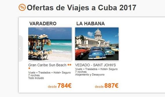 central de vacaciones cuba
