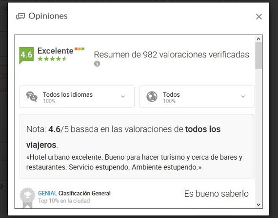 solbooking opiniones