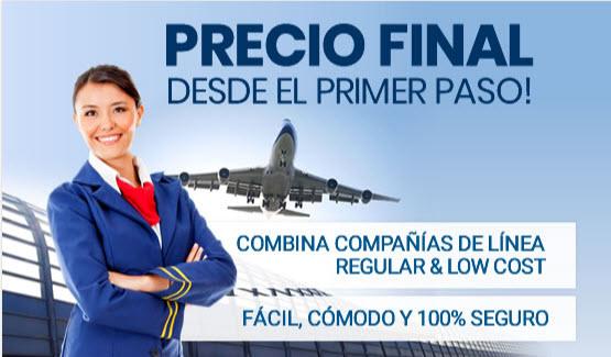 Comparador de vuelos low cost online