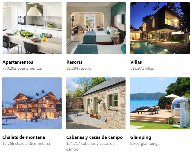 Mejores alojamientos baratos online