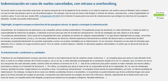 flightright cancelación de vuelos