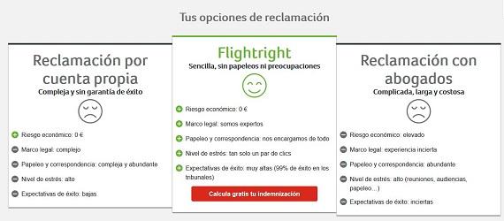 flightright reclamaciones