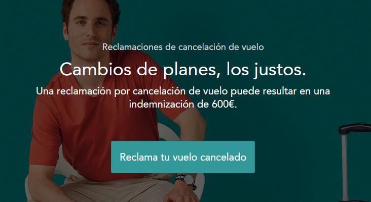 reclamacion vuelos cancelados coronavirus